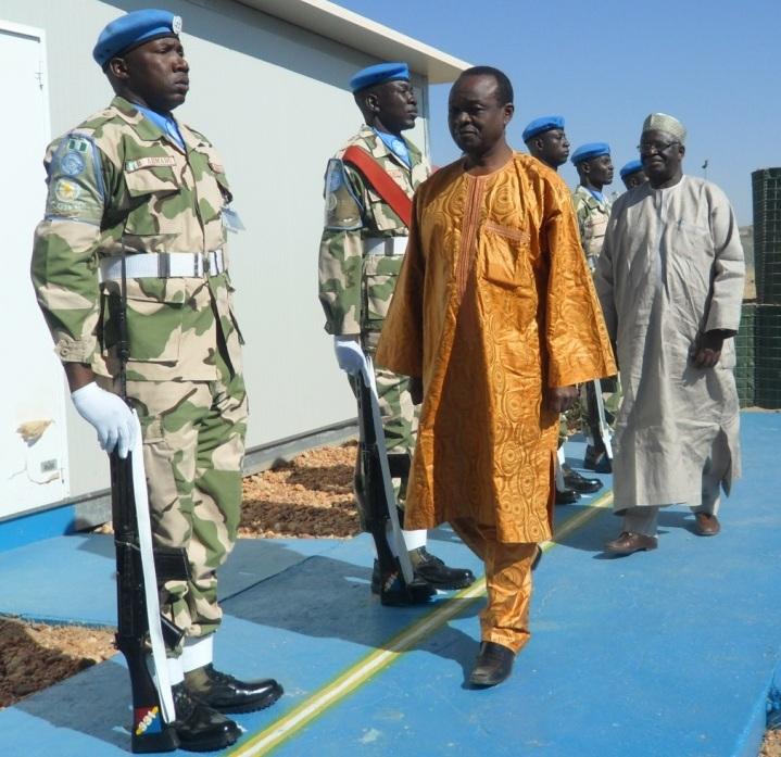 Deputy Chairperson Mwencha visits UNAMID headquarters to assess progress and latest development