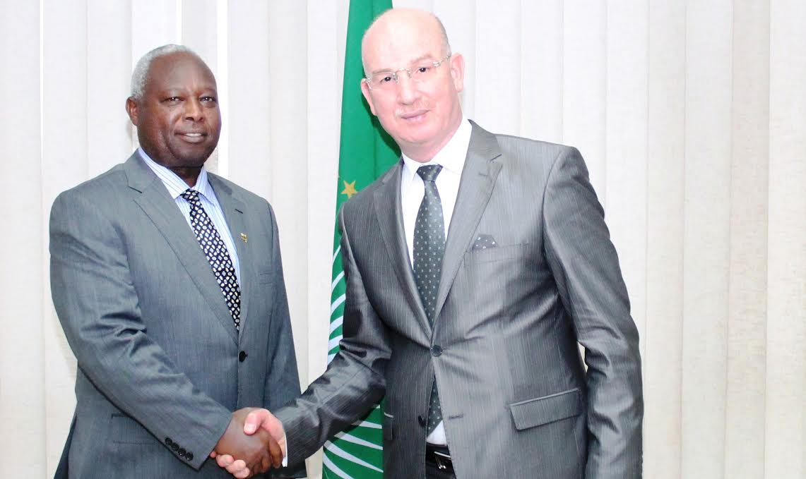 Commissioner Chergui receives new Special Envoy for the AU-led Regional Cooperation Initiative for Elimination of the LRA