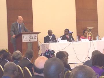 Allocution du Commissaire à la Paix et à la Sécurité de l'Union africaine, Ambassadeur Smail Chergui,  à l'occasion de cette sixième réunion du Groupe international de contact sur la République centrafricaine